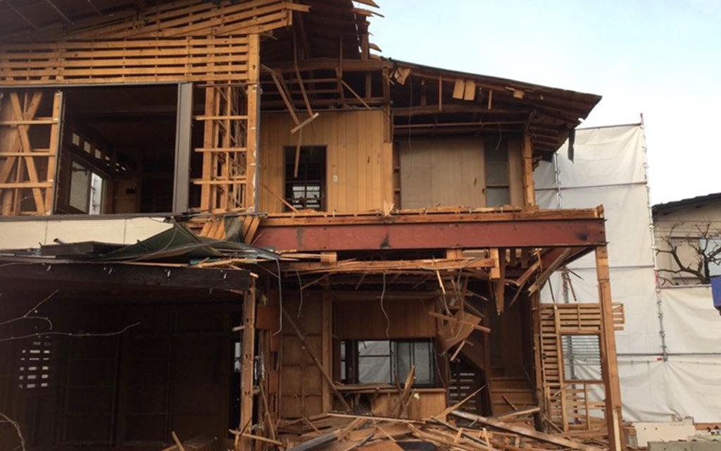 富士河口湖町 K様邸 解体工事