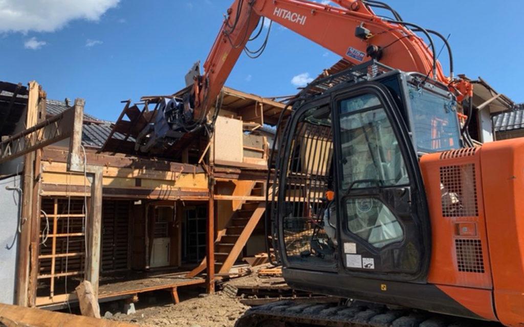 南アルプス市 Y様邸 解体工事